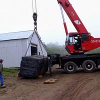 La naissance de Venus, le chantier, 2e semaine (2009/06/24)