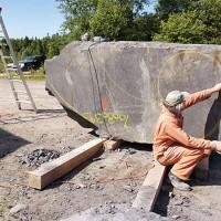 La naissance de Venus, le chantier, 4e semaine (2009/07/11)