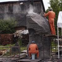 La naissance de Venus, le chantier, 4e semaine (2009/07/31)