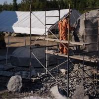 La naissance de Venus, le chantier, 6e semaine (2009/08/14)