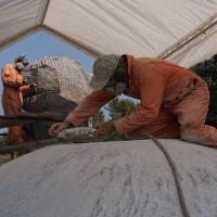 La naissance de Venus, le chantier, 7e semaine (2009/08/21)