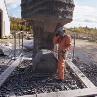La naissance de Venus, le chantier, 13e semaine (2009/10/12)