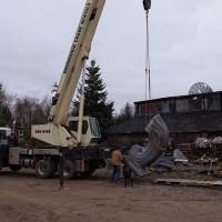 La naissance de Venus, le chantier, 17e semaine (2009/11/17)