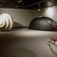 « Vaisseaux », (vue partielle de l'exposition), 1999, Galerie d'art Louise et Reuben-Cohen, N.-B.